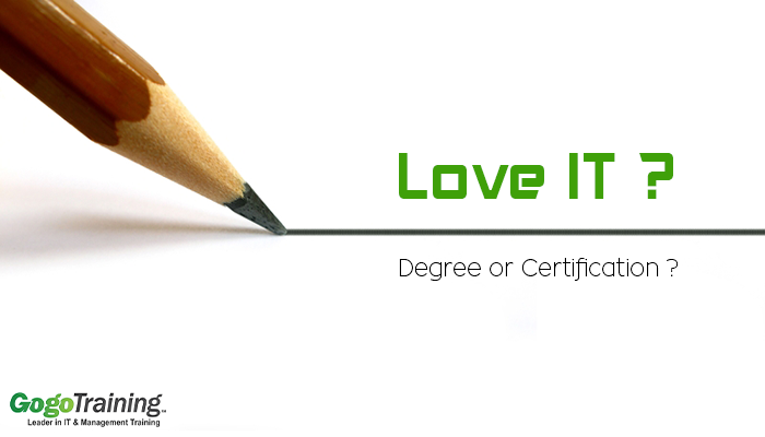 bachelor degree vs certification