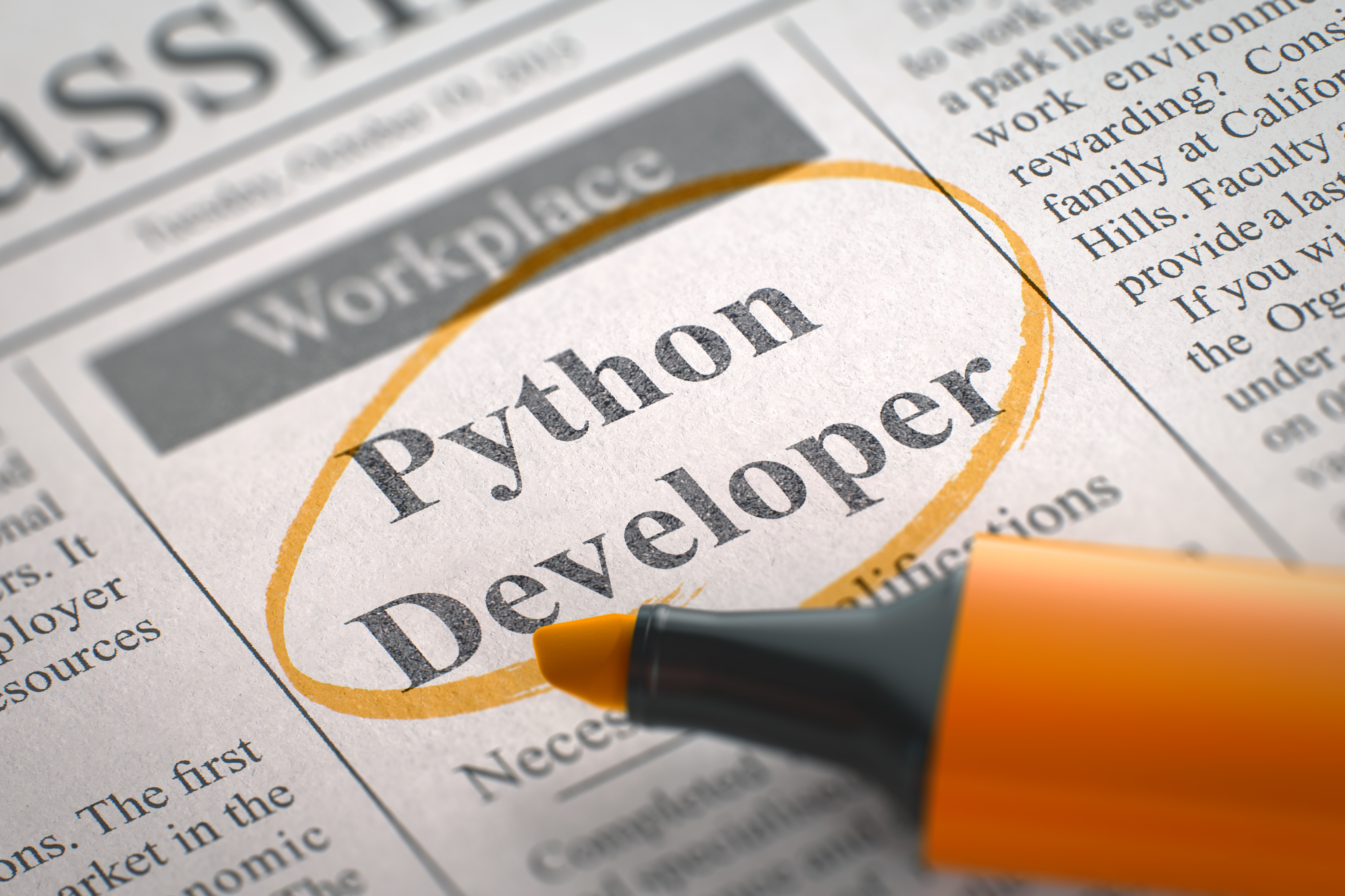 Gogotraining providing career information to the field of it python developer needed xflitez Choice Image