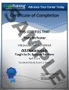 Sample of Certification of Completion